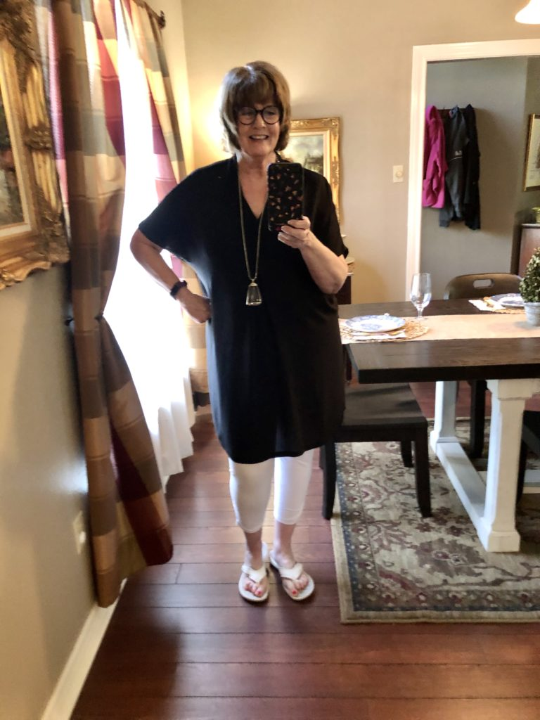 Chicos tunic on Over 50 Feeling 40