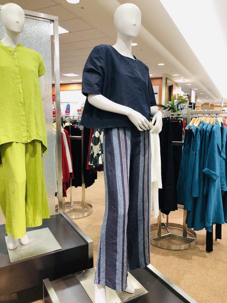 Eileen Fisher fashions at Dillards