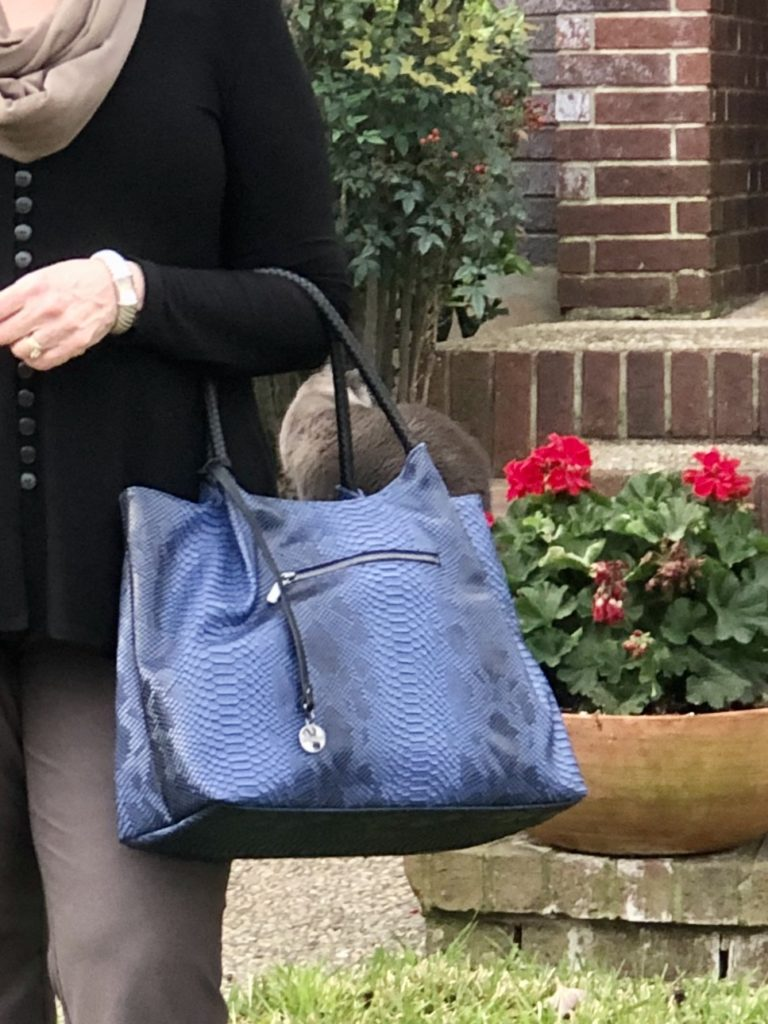 Pamela Lutrell reviews Gunas handbag