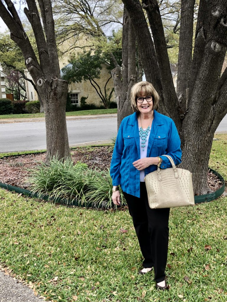 Pamela Lutrell in spring colors from GOODWILL SA
