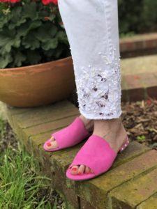 Soft Surroundings white pants for Spring 2020