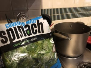 Pamela Lutrell cooks with fresh veggies