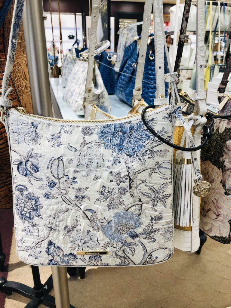 Pamela Lutrell with Spring 2020 Brahmin Bags at Dillards