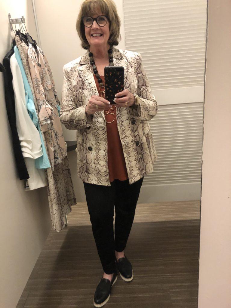 Pamela Lutrell shopping spring at Macys