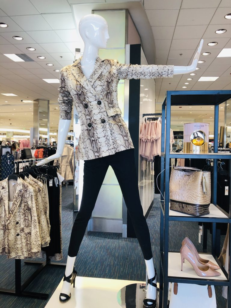 Pamela Lutrell shopping in Macys