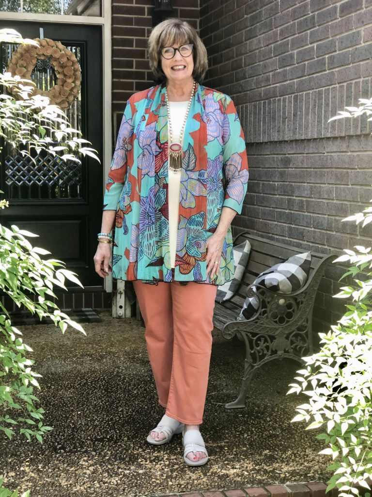 Ali Miles jacket on Over 50 Feeling 40