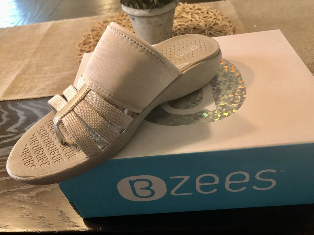 Over 50 Feeling 40 BZee Sandals