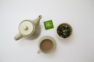 Over 50 Feeling 40 discusses Green Tea