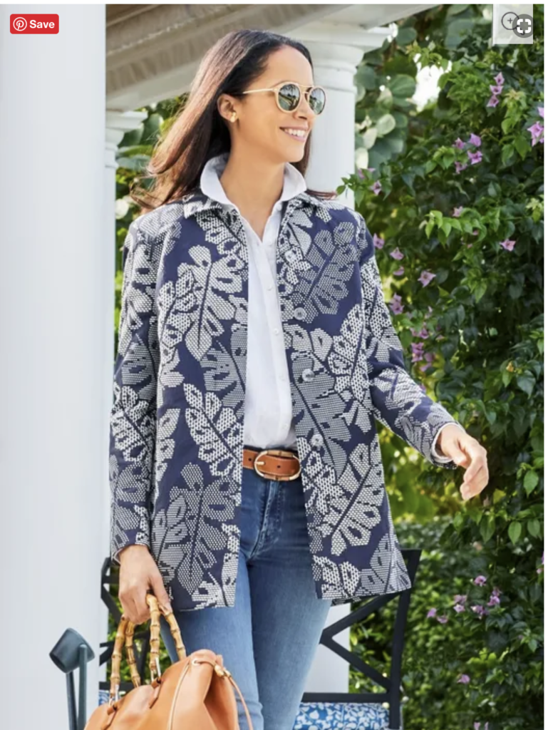 Over 50 Feeling 40 features casual chic at J McLaughlin