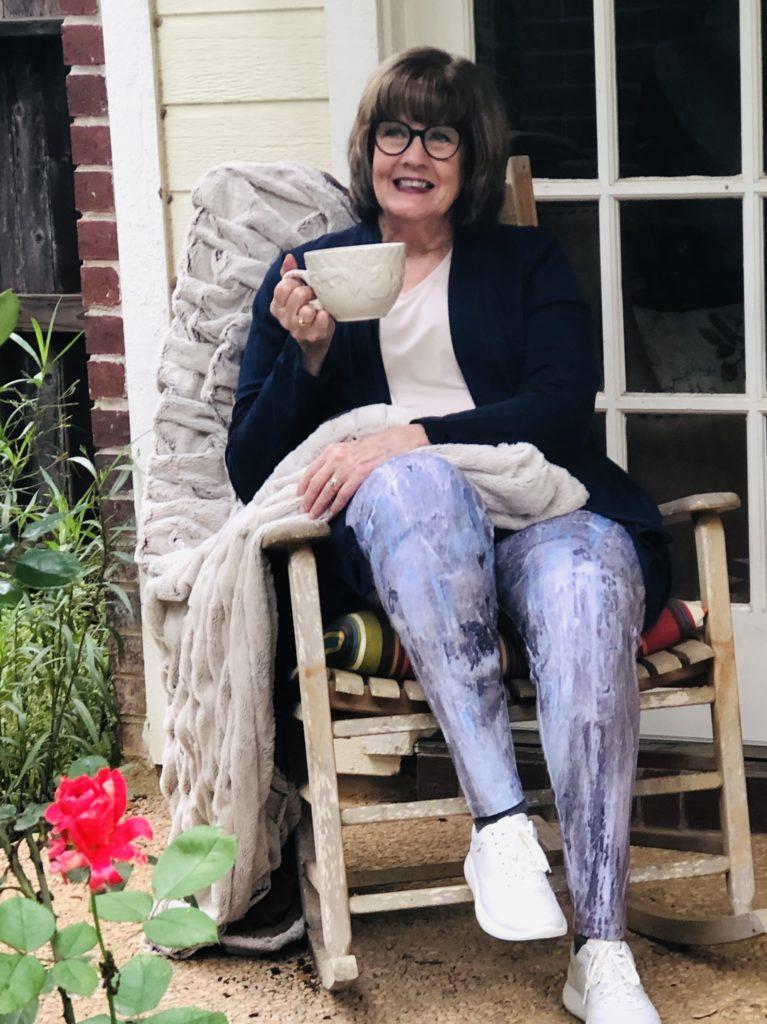 Pamela Lutrell for Soft Surroundings Leggings
