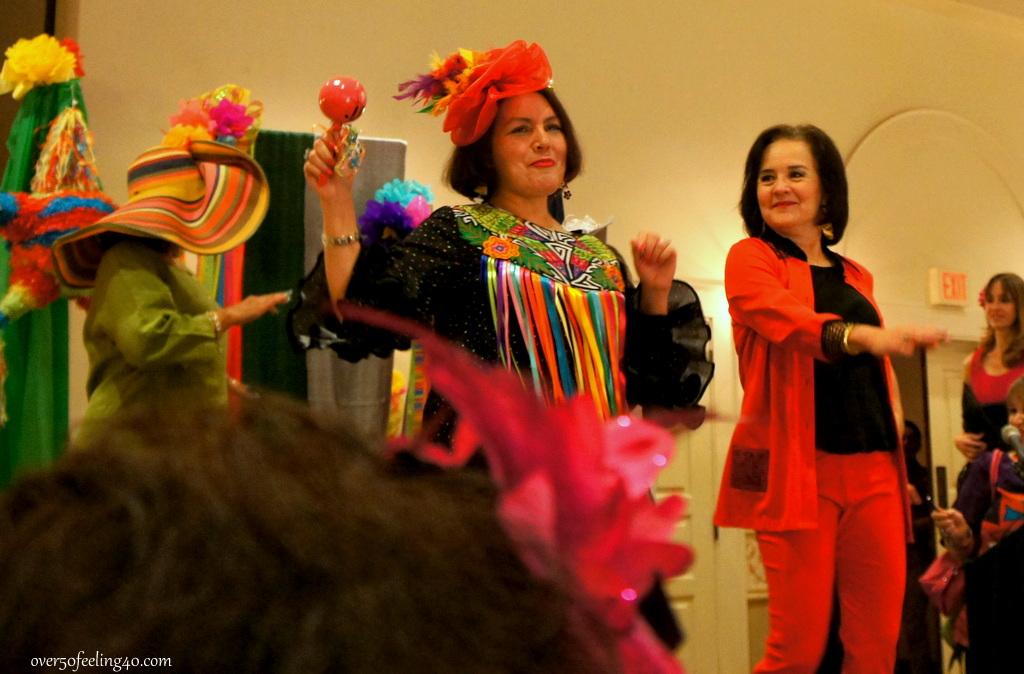 Fiesta Celebrations on Over 50 Feeling 40