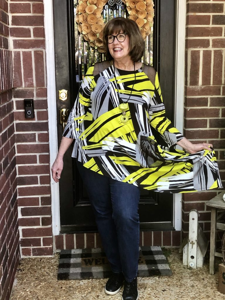 IC Collection Tunic from Dillards on Over 50 Feeling 40