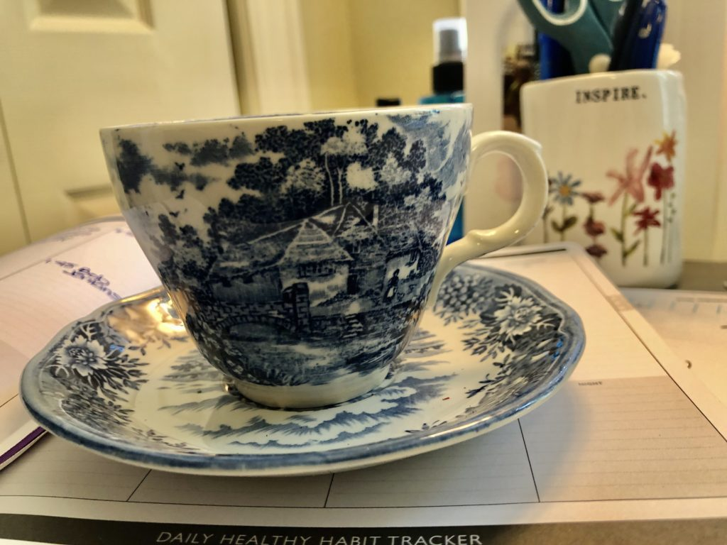 Host a virtual tea party on over 50 Feeling 40