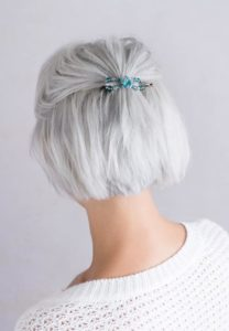 Hair Accessories on Over 50 Feeling 40