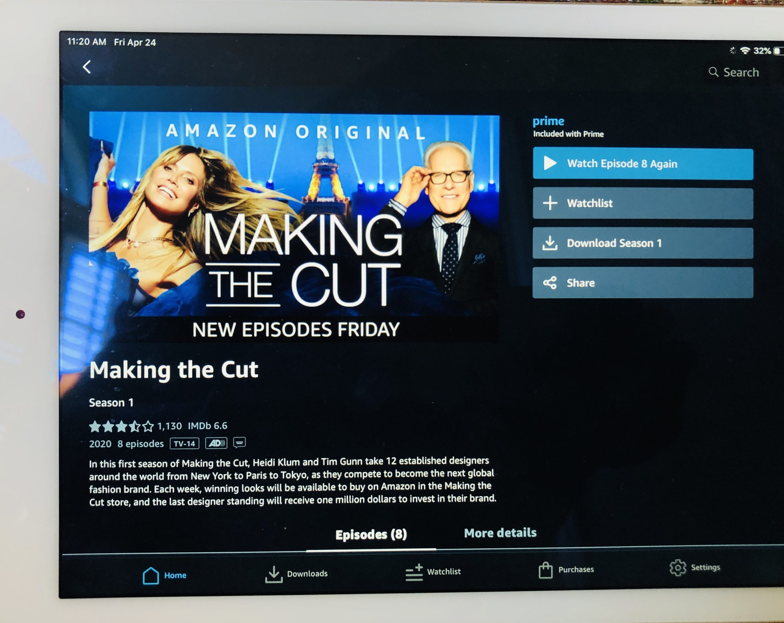 Making the Cut featured on Over 50 Feeling 40