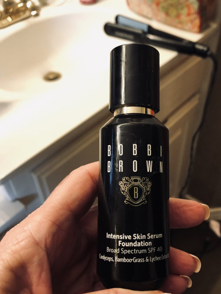 Bobbi Brown Serum Foundation recommended on Over 50 Feeling 40