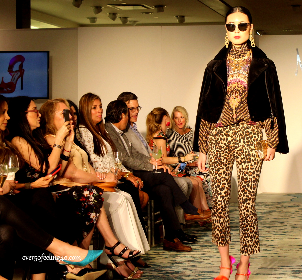 Mixed leopard prints on over 50 Feeling 40