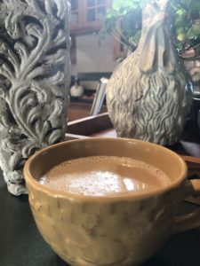 Our at home coffee shop on over 50 Feeling 40