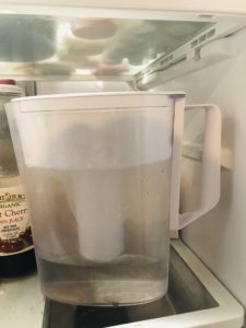Brita Water Filtration Pitcher on Over 50 Feeling 40