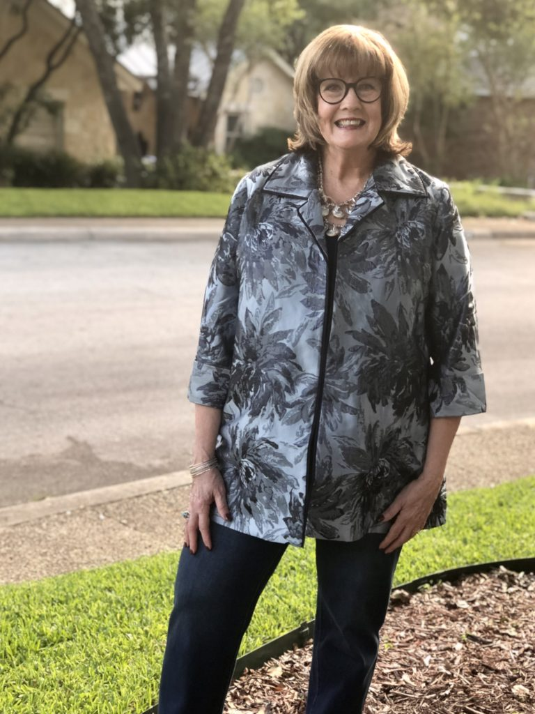 How to style denim on over 50 feeling 40