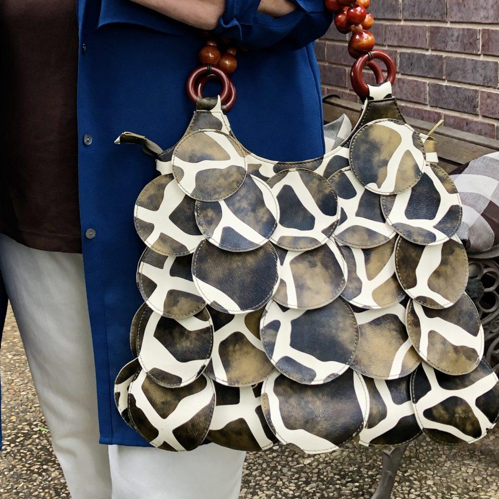Animal Print Hobo Bag from Goodwill San Antonio