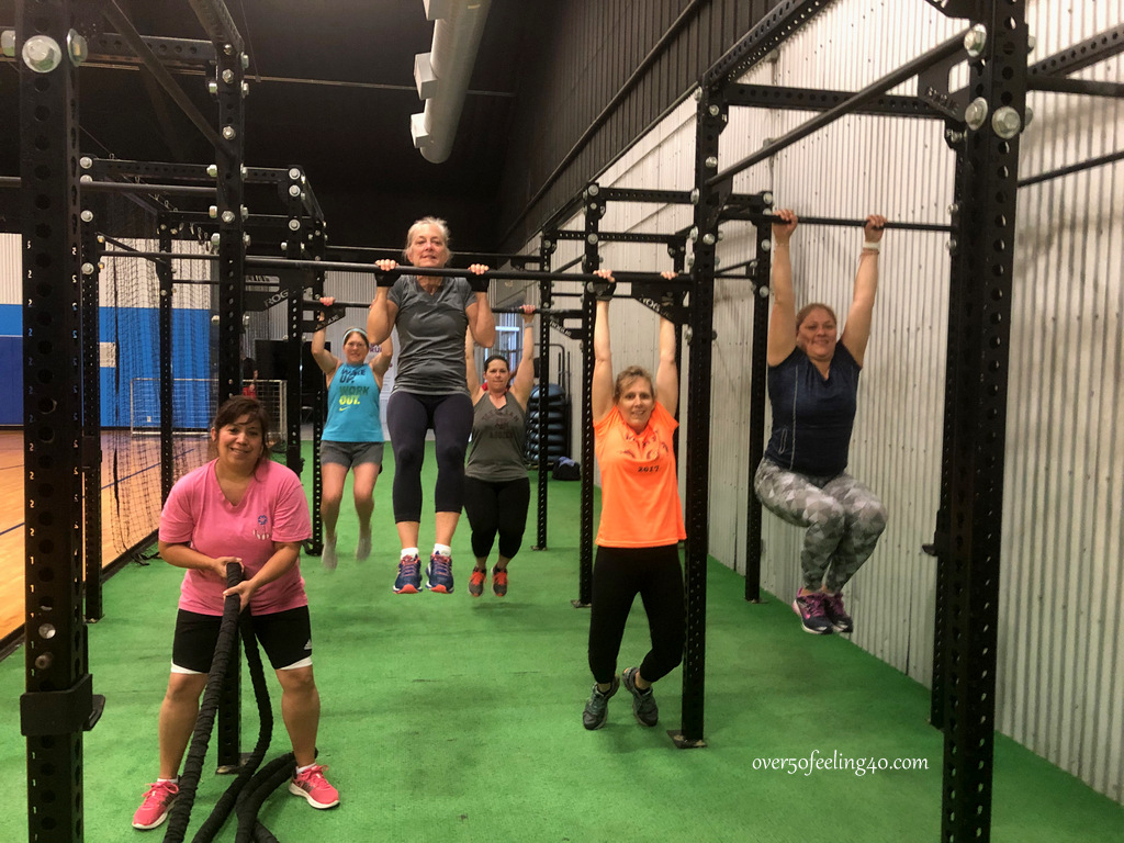 Working out with Friends on Over 50 Feeling 40