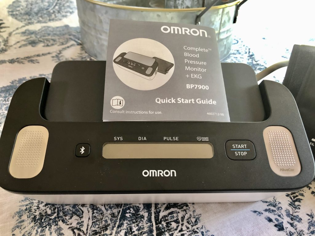 Omron Complete takes EKG on Over 50 Feeling 40