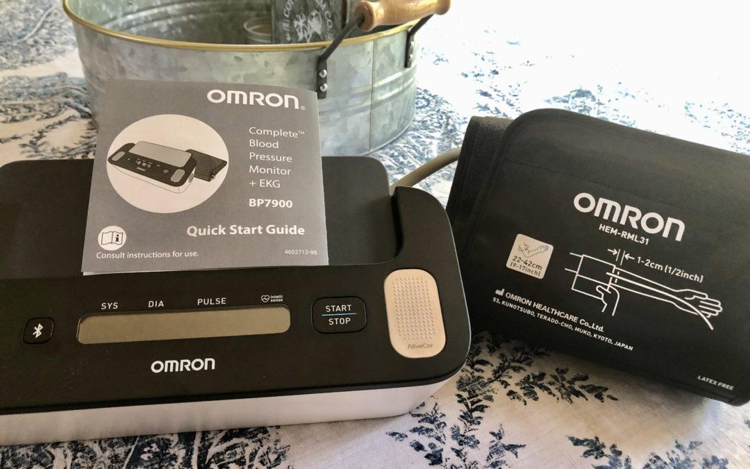 The time is now for monitoring your health – OMRON Complete Wireless Upper Arm Blood Pressure Monitor + EKG