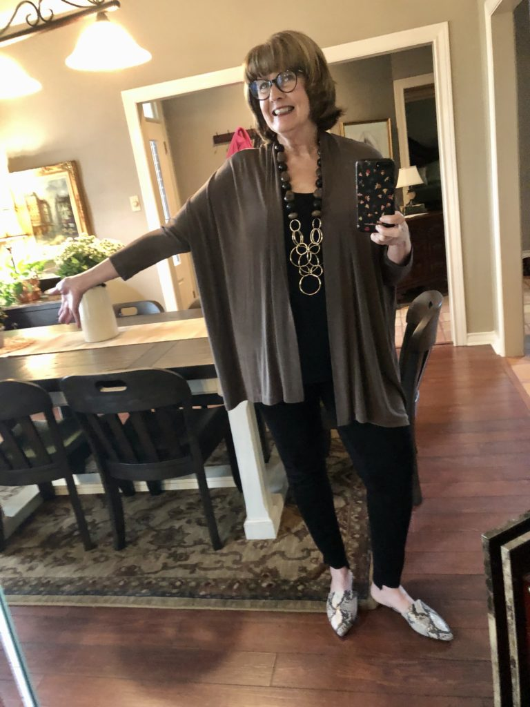 Chicos neutral look on over 50 Feeling 40