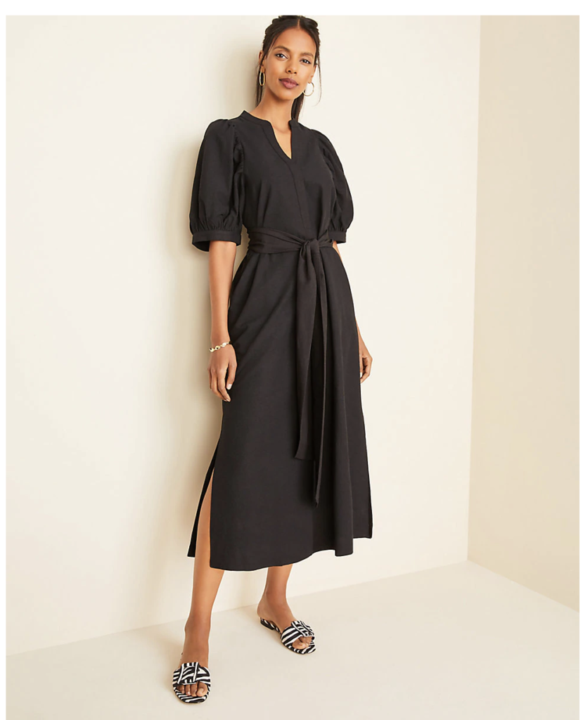 Mid-length Dress on Over 50 Feeling 40