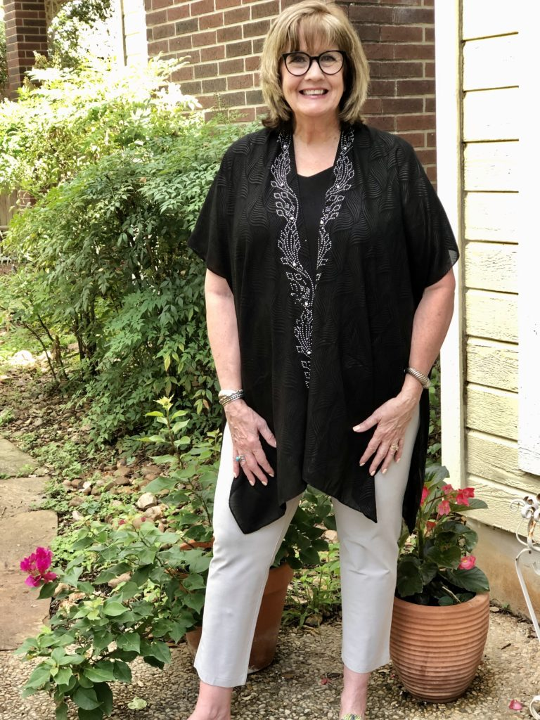 Casual Chic at home style on over 50 feeling 40