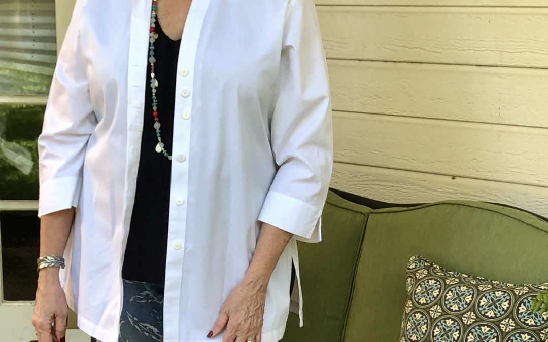 Fashion over 50: How I style a white topper