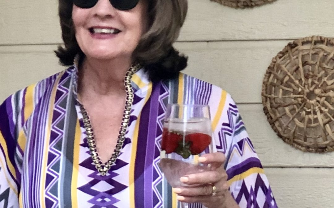 Elegant Fashion Over 50: How to wear a summer kaftan