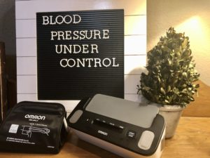 OMRON Blood Pressure Readings on over 50 Feeling 40