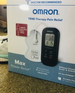 TENS Pain relief on over 50 feeling 40
