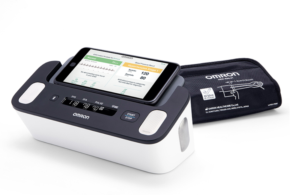 Omron Complete for blood pressure and EKG on over 50 feeling 40