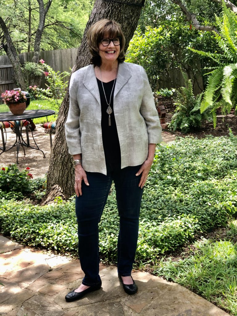How to style jeans on over 50 Feeling 40
