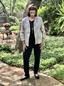 Eileen Fisher Casual Chic on Over 50 Feeling 40