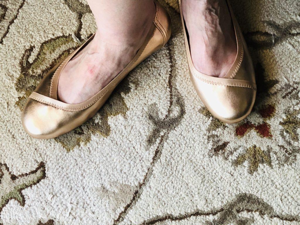 Vionic Rose Ballet Flats on Over 50 Feeling 40