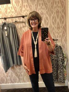Chicos Kimono Jacket on Over 50 Feeling 40