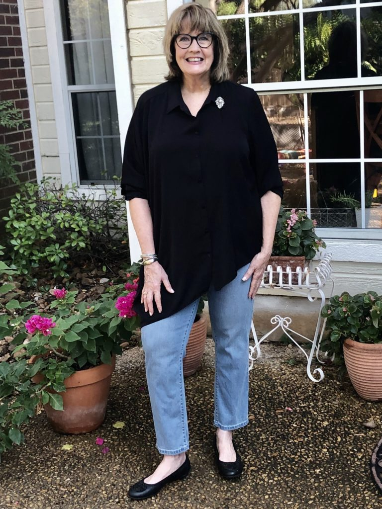 Casual Chic on Over 50 Feeling 40