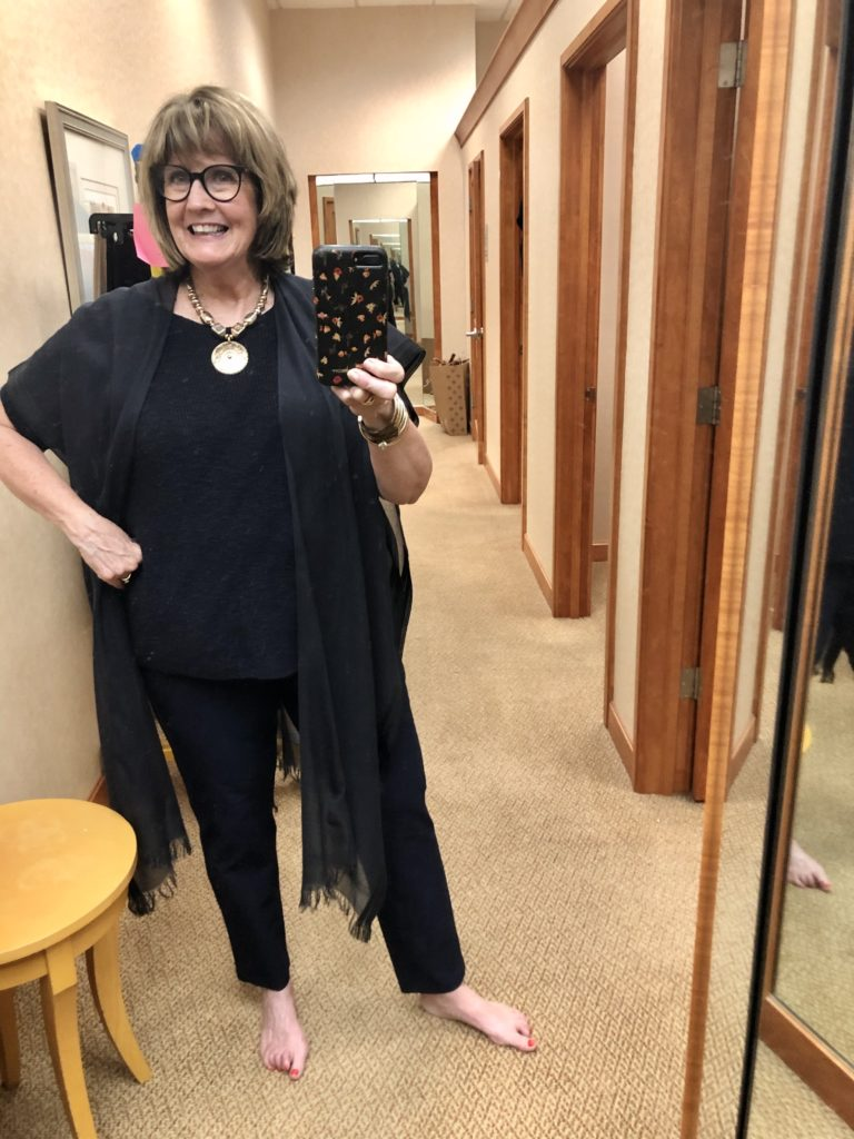 Eileen Fisher at Dillards on Over 50 Feeling 40