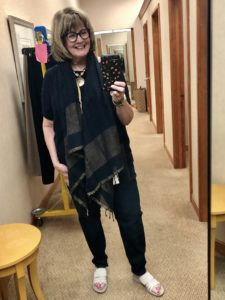 Eileen Fisher for Fall 2020 at Dillards on Over 50 Feeling 40