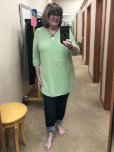 Eileen Fisher Jeans at Dillards on Over 50 Feeling 40