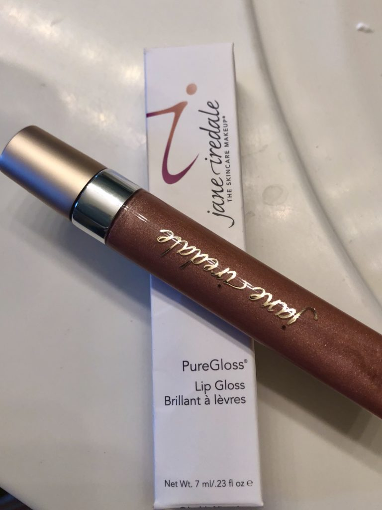 Jane Iredale Lip Gloss on Over 50 Feeling 40