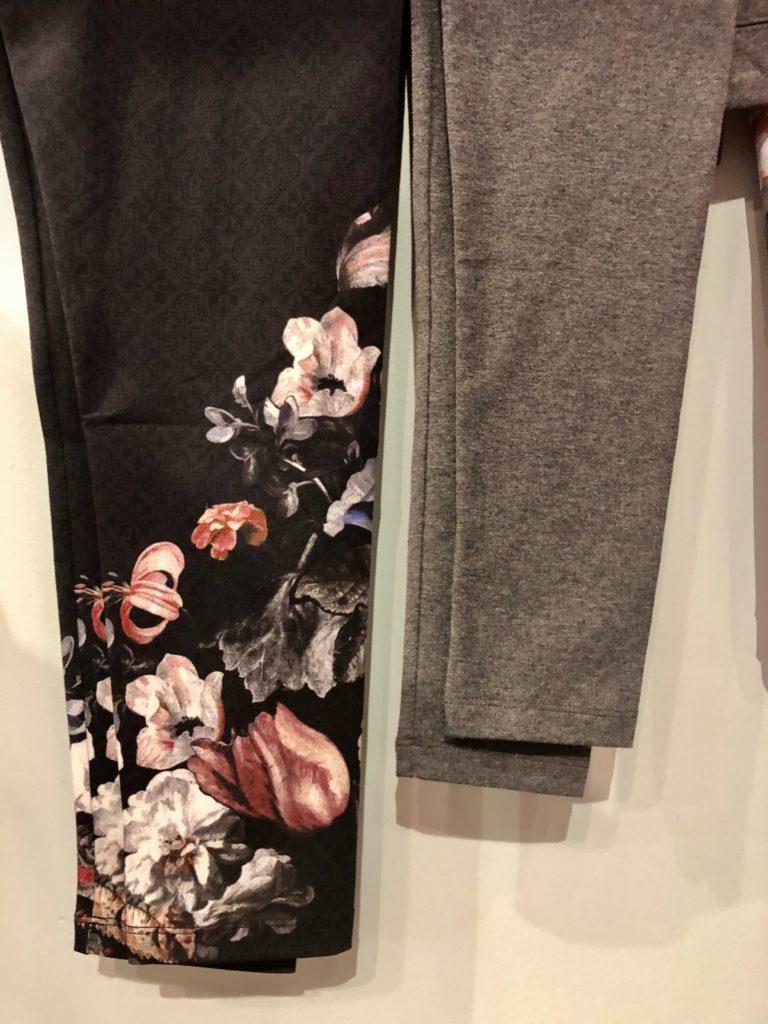 Soft Surroundings leggings for fall 2020 on over 50 Feeling 40