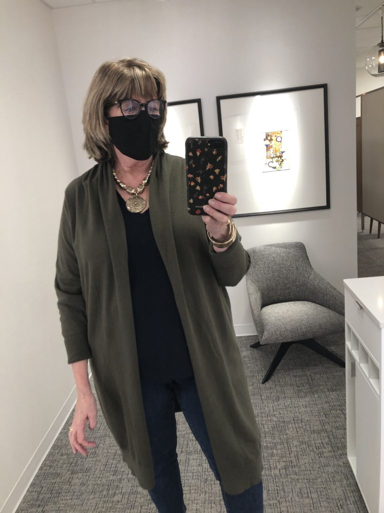 Shopping at Nordstrom on over 50 Feeling 40