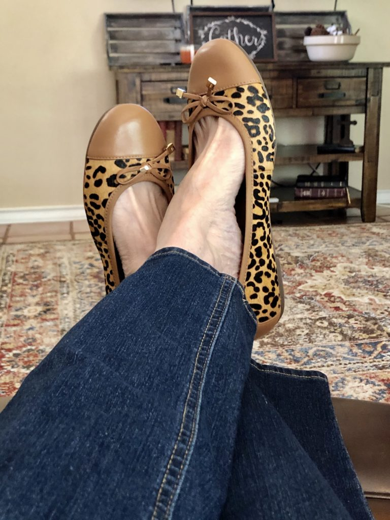 Vionic Ballet Flats on Over 50 Feeling 40