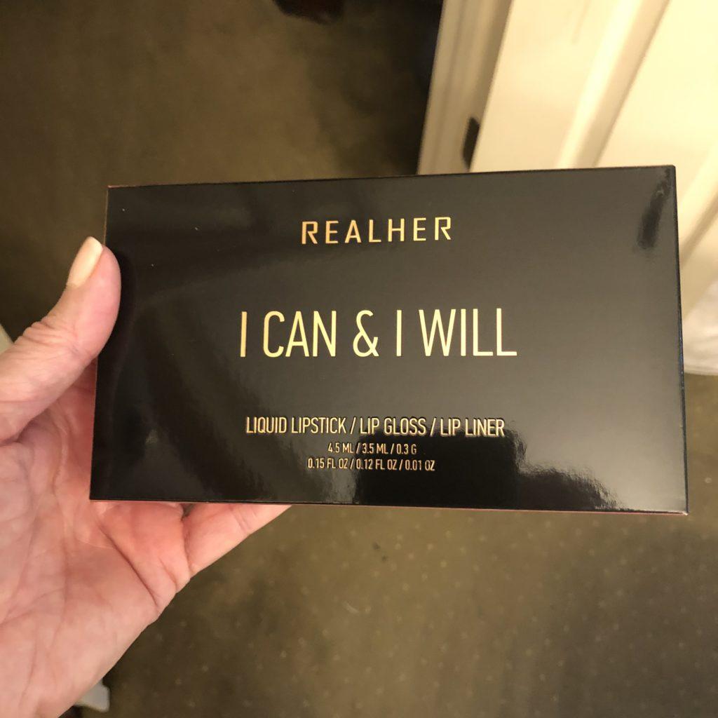 RealHer Affirmation Lips on Over 50 Feeling 40