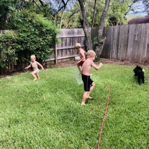 Teaching grandsons on over 50 feeling 40